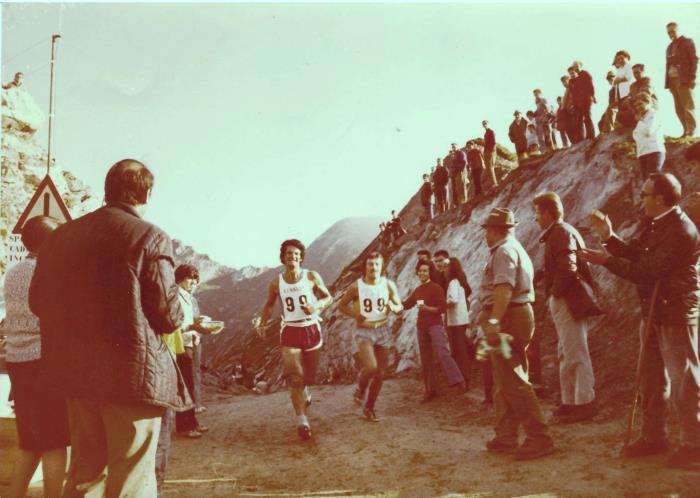1973 les vinqueurs au Col Barant